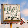 Comet Cone Drive In, Central Indiana.